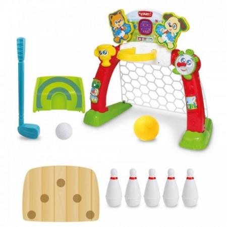 Centru sportiv 4 in 1 Smily Play