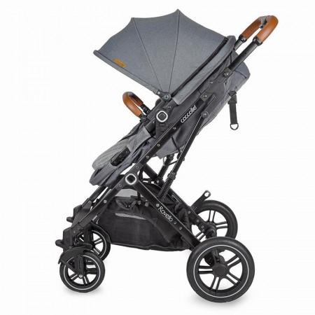 Carucior 3in1 ultracompact Coccolle Ravello Urban Grey