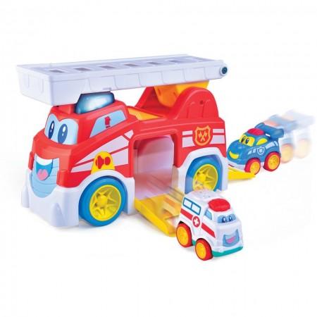 Masinuta de pompieri - Vroom Vroom