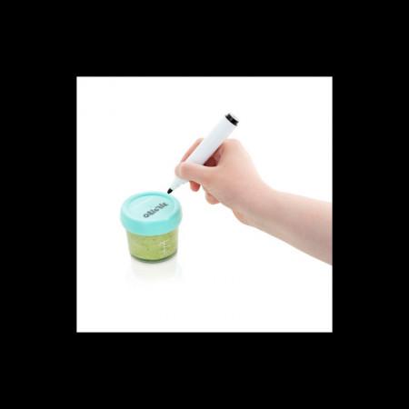 Babymoov - Set 4 boluri gradate din sticla, 240 ml