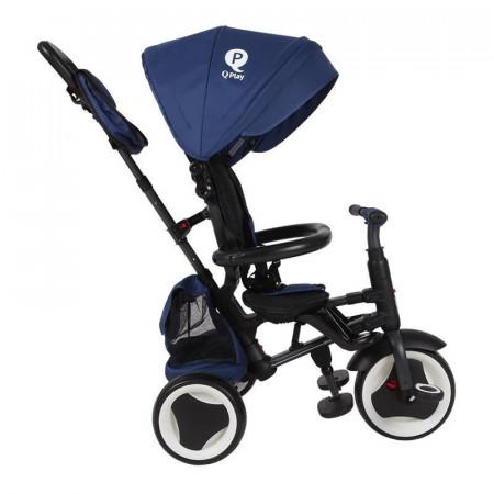 Tricicleta pliabila Qplay Rito Plus Albastru