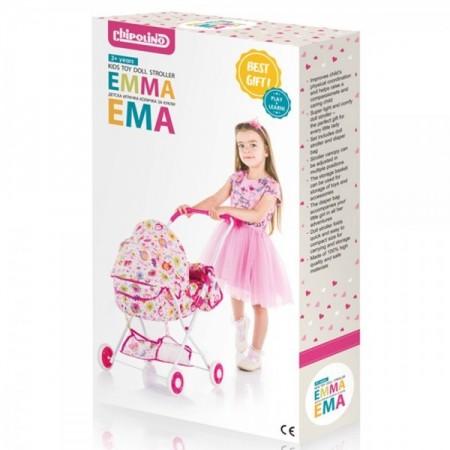 Carucior pentru papusi Chipolino Emma litte hearts