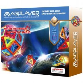 Joc de constructie magnetic - 30 piese