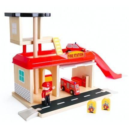 Jucarie de rol - Statie de pompieri