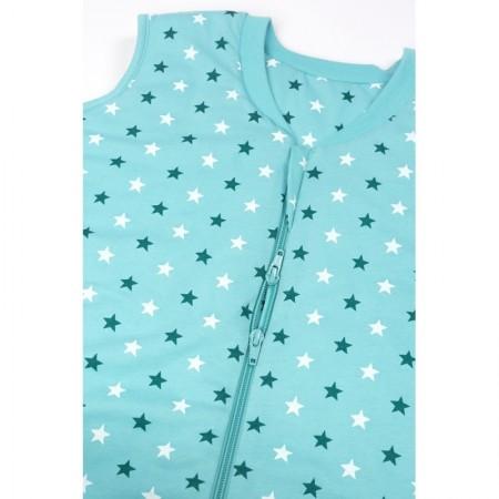Sac de dormit cu picioruse si talpa antiderapanta Teal Stars 3-4 ani 2.5 Tog