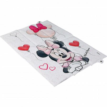 Saltea de infasat pliabila Minnie Disney CZ10344