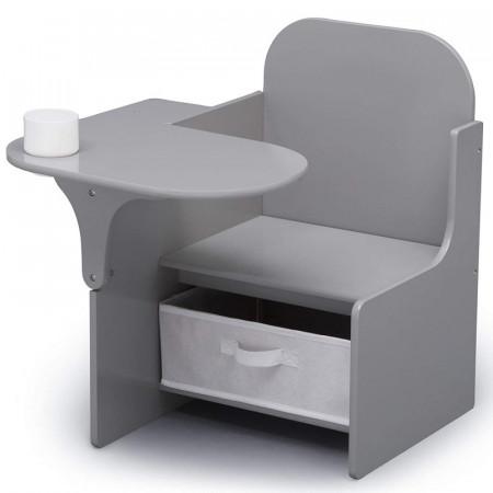 Scaun multifunctional din lemn Plain Grey