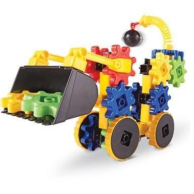 Set de constructie - Gears! Primul meu buldozer