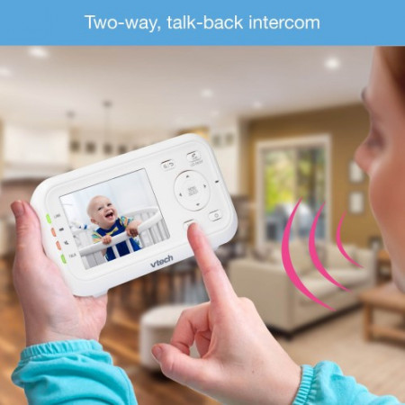 Vtech - Videointerfon digital bidirectional 2.8 inch VM3255 cu melodii si infrarosu