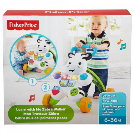 Premergator Fisher Price by Mattel Infant Zebra