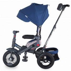 Tricicleta multifunctionala Coccolle Corso Albastru