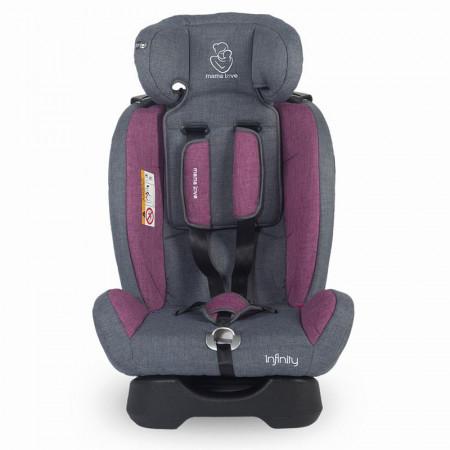 Scaun auto grupa 0-36 kg MamaLove Infinity Violet