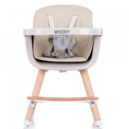Scaun de masa Chipolino Woody mocca