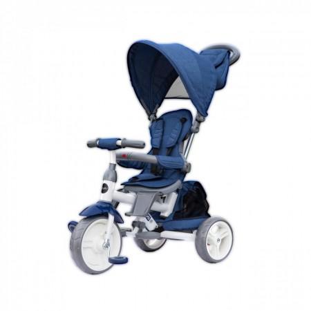 Tricicleta cu sezut reversibil Coccolle Evo (2019) Albastru
