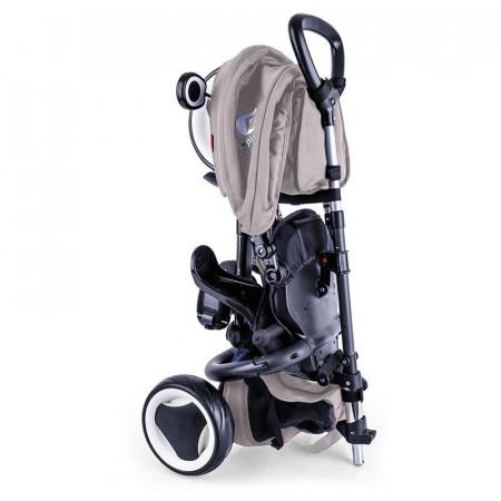 Tricicleta pliabila Qplay Rito Plus Gri