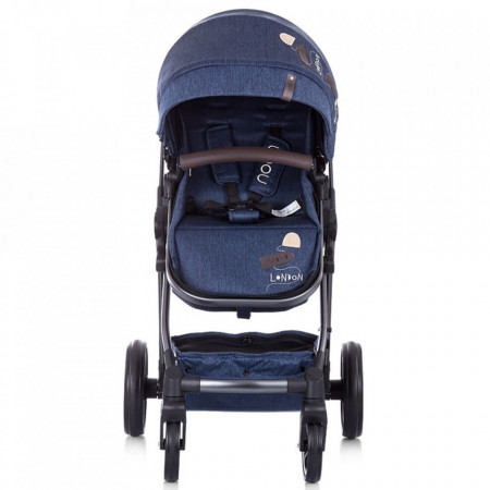 Carucior Chipolino Noah 2 in 1 blue denim