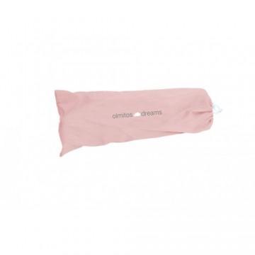 Olmitos - Protectie pat rabatabila pentru somiera adancita 150 cm Dreams Pink