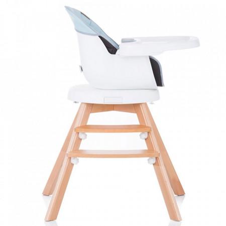 scaun masa cu sezut rotativ vedere lateral