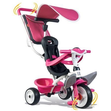 Tricicleta Smoby Baby Balade pink