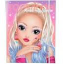 Carte de colorat Top Model Make-up Creativ Depesche PT10714