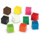 Cuburi multicolore (1cm)