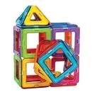 Joc de constructie magnetic - 45 piese