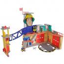 Jucarie Simba Statie de pompieri Fireman Sam, Sam Ultimate Firestation XXL cu figurina si accesorii