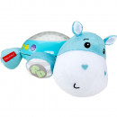 Lampa de veghe plus Fisher Price by Mattel Newborn Hipopotam albastru