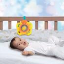 Proiector bebe muzical atasabil la patut Smily Play Dreams