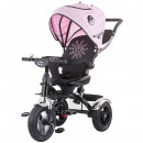 Tricicleta cu sezut reversibil Chipolino Arena peony pink