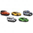 Set Majorette 5 masinute SUV 4x4