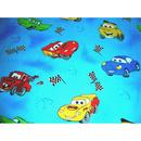 Lenjerie patut Hubners Cars 5 piese albastru