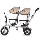 Tricicleta gemeni Chipolino 2Play mocca