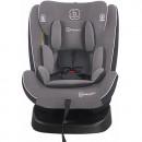 BabyGo - Scaun auto rotativ cu isofix Nova 360° Grey, 0 - 36 kg