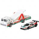 Camion Hot Wheels by Mattel Car Culture C-800 cu masina Ford GT Race