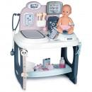 Centru de ingrijire pentru papusi Smoby Baby Care Center cu papusa si accesorii
