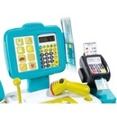 Jucarie Smoby Casa de marcat Mini Shop albastru cu accesorii