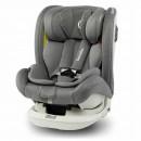 Lionelo - Scaun auto Bastiaan RWF Pozitie de somn, Protectie laterala, Rotire 360 grade, 0-36 Kg, cu Isofix, Gri