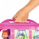 Papusa Simba Evi Love 12 cm Holiday Camper cu rulota si accesorii