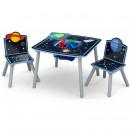 Set masuta multifunctionala si 2 scaunele Space Adventures