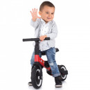 Tricicleta si bicicleta Chipolino Smarty 2 in 1 red