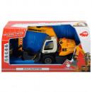 Excavator Dickie Toys DT 433 cu accesorii
