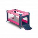 Lionelo - Patut pliant Stefi, 120x60 cm, Pink Rose