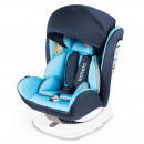 Lionelo - Scaun auto Bastiaan Pozitie de somn, Rotire 360 grade, 0-36 Kg, cu Isofix, Albastru