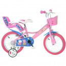 Bicicleta copii 14'' - Purcelusa Peppa