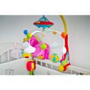 Huanger Toys - Carusel muzical pentru patut cu proiectii si 108 melodii