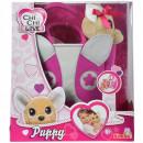 Jucarie de plus Simba Catel Chi Chi Love Puppy 20 cm cu geanta