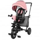 Lionelo - Tricicleta multifunctionala cu sezut reversibil, pliabila, Tris, Candy Rose/Grey
