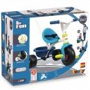 Tricicleta Smoby Be Fun blue
