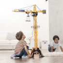 Jucarie Dickie Toys Macara Mega Crane 120 cm cu telecomanda
